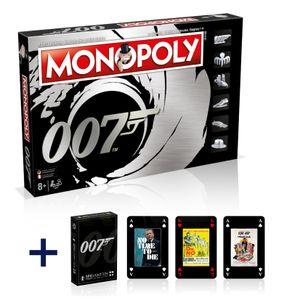Monopoly James Bond 007 Deutsch Französisch Edition Spiel Brettspiel + Kartenspiel