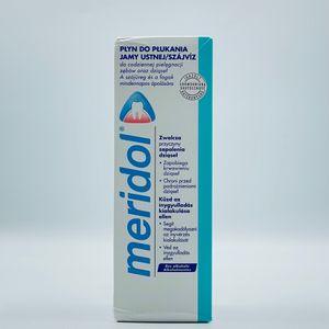 Meridol Mundspülung zur täglichen Zahn- und Zahnfleischpflege 1 x 400ml