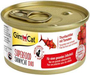 GimCat Superfood Duo Thunfischfilet mit Tomaten 70 g Katzenfutter - 24er Pack