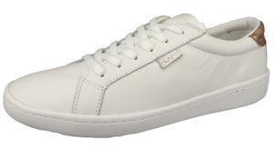 Keds Damen Low Sneaker Ace WH57103 Weiß  Metal White Rose Leder, Groesse:38 EU