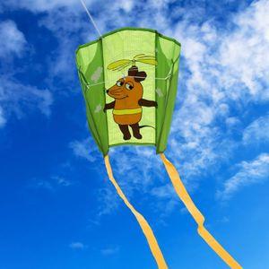 elliot Mini Pocket Kite Maus Flieger grün