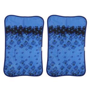 2x PVC Sommer Kühlung Wasserkissen Kopfkissen Nackenstützkissen Wasserkopfkissen Schlafkissen Sitzkissen