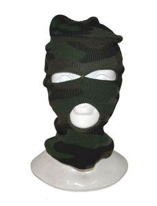 Sturmmaske - camouflage - Erwachsene Unisex