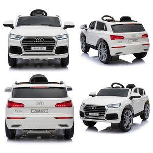 Der neue Audi Q5 quattro 12V Elektro Kinderauto elektrisch Kinder Elektroauto  Weiss
