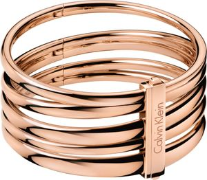 Calvin Klein Jewelry sumptuous KJ2GPD1001 Damenarmreif Sehr Elegant, Armreifgröße:S (65mm/205mm)