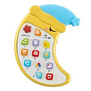 1 Stück Baby-Handy-Spielzeug Farbe Gelb