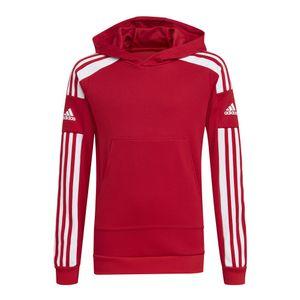Adidas Squadra 21 Hoodie Kinder rot : 176 Größe: 176