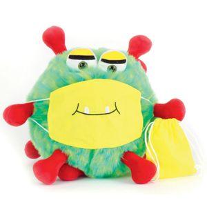 Virus Handpuppe Breezy mit Mundschutz von beleduc