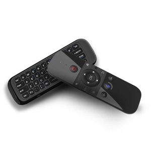 2.4G Air Mouse Wireless-Tastatur Sprachsteuerung 6-Achsen-Bewegungserkennungs-IR-Lernfernbedienung fš¹r Smart TV Android TV BOX PC