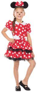 Rubie's kostüm Disney Minnie Mouse Mädchen rot Größe 104