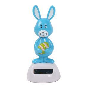 Solarfigur Kaninchen Wackelfigur Tierfigur Dekofigur