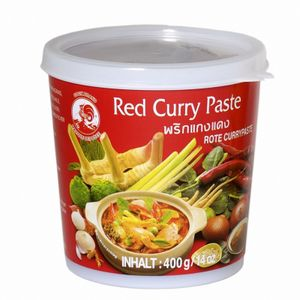 400g  COCK Rote Currypaste / Red Curry Paste