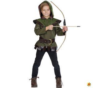 Kinder Kostüm Robin Hood König der Diebe, Größe:104