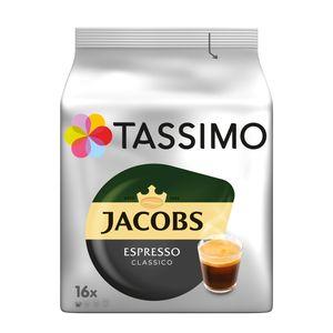 Tassimo Jacobs  Espresso Classico | 16 T Discs, Kaffeekapseln