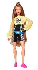Barbie BMR1959, voll bewegliche Barbie Modepuppe mit geflochtenem Haar
