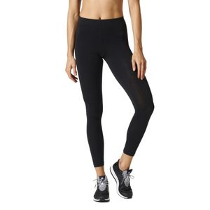 adidas ESS Leggings Fitness Tight Damen, Farbe:Schwarz-Weiss, Damen Größen:L