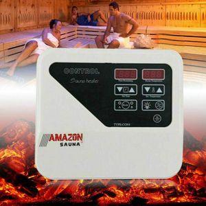 3-9KW 8+4 Mode Sauna Externe Steuerung Saunasteuergerät Steuereinheit Saunakontrolle Controller 380V-415V