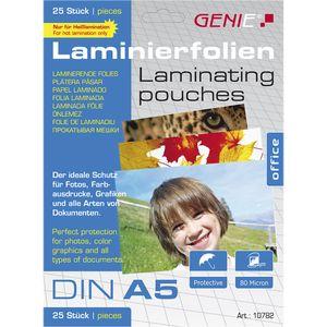 Genie Laminiertaschen A5 fÃ1/4r Dokumente + Fotos