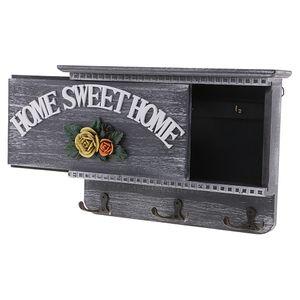 1 Stück Holzschlüsselbox , EIN wie beschrieben