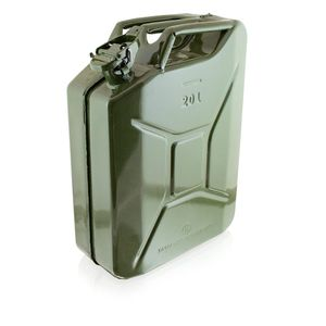 Bituxx Kraftstoffkanister Metall 20 Liter, olive, MS-17062