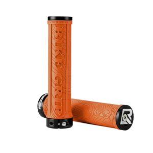 ROCKBROS Fahrrad Lock-On Griffe Rutschfest Lenkergriffe MTB 22,2mm orange