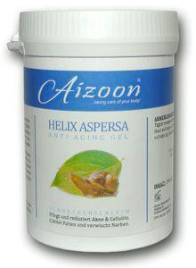 2x 250ml Schneckengel Cellulite Schneckenschleim Anti Aging Akne Gel Aizoon Narben Creme