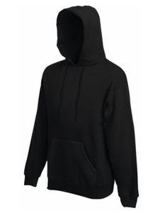 Premium Hooded Sweat - Farbe: Black - Größe: XXL