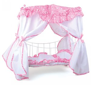 Small Foot Puppenbett Traum, rosa/pink (1 Stück)