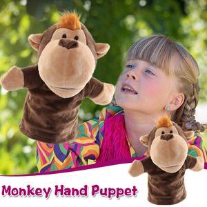 Cartoon Tiere Eltern-Kind Puzzle Plüsch Spielzeug Mund kann Marionette starten ZHI201209084