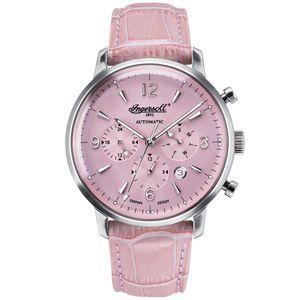 Ingersoll Absarokee Damen Automatikuhr pink/silber IN1712PI