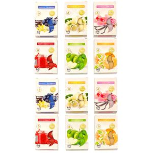 72 Stück Duftkerzen Teelichter   Duftteelicht Duft Kerze In 6 Verschiedenen Düften   Aromakerze Raumduft