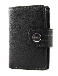 PICARD Melbourne Bifold Wallet Black