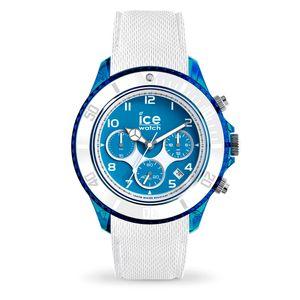 Ice-Watch 014224 Herren-Chronograph Ice Dune White Superman Blue XL