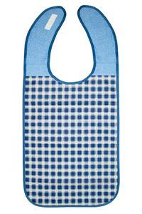 Lätzchen für Erwachsene, 45x90 cm, dunkelblau, 100% Polyester mit PolyurethanSchicht