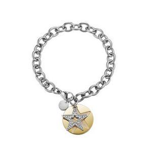 Esprit Damen Armband Edelstahl silber gold Great Star ESBR11607B190