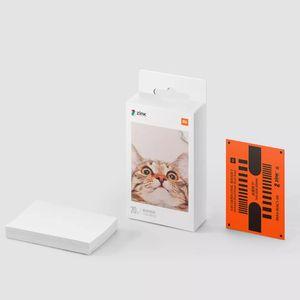 XIAOMI ZINK Pocket Printier Selbstklebendes Fotodruckpapier 50 Blatt für XIAOMI 3-Zoll-Mini-Pocket-Fotodrucker