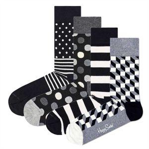 Happy Socks Geschenkbox CLASSIC BLACK AND WHITE SOCKS XCBW09-9100 Mehrfarbig, Size:41-46