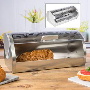 Brotkasten mit Blumenmotiv Brotbehälter Brotkiste Brotkorb Frischhaltebox