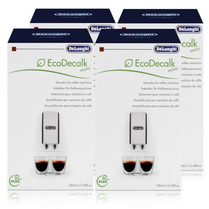 Delonghi EcoDecalk Mini Entkalker 1x100ml DLSC101 (4er Pack)