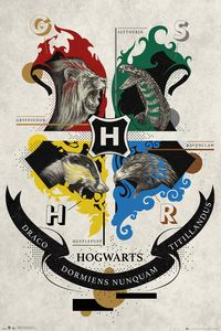 GBeye Harry Potter Animal Crest Poster 61x91.5cm.
