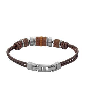 Fossil JF00900797 Herren Armband Leder
