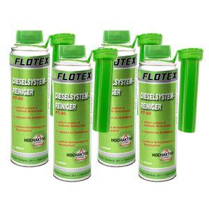 Flotex Diesel Systemreiniger, 4 x 250ml Additiv Dieselsystemreiniger