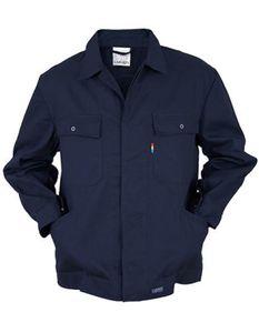 Herren Classic Blouson Work Jacket bis 60 Grad waschbar - Farbe: Navy - Größe: 52