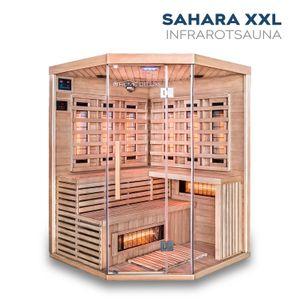 Infrarotkabine Sahara XXL mit Vollspektrumstrahler