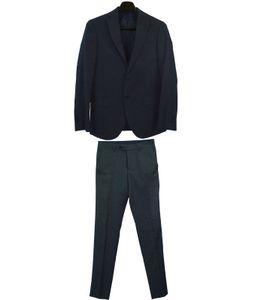 engelhorn SELECTION Mancuso Smoking schöner Herren Business-Anzug Marine Blau, Größe:44