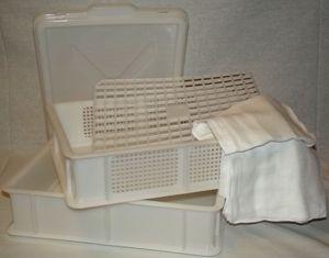 Große Reifebox 40cm x 30cm für die eigene Käseherstellung