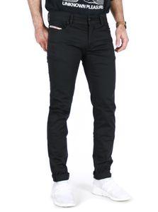 Diesel - Slim Skinny Fit Stoff Hose - Troxer Schwarz, Größe:W33