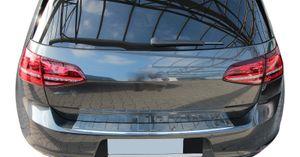 LADEKANTENSCHUTZ Edelstahl V2A Leiste Schutz für VW Golf VII 7 ab 2012-