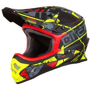 Oneal 3Series Zen Motocross Helm Farbe: Neon Gelb, Grösse: S (55/56)