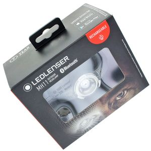 LED Lenser MH11 Stirnleuchte Outdoor Headlamp wiederaufladbar, rechargeable mit Li-ion Akku, dunkelgrau